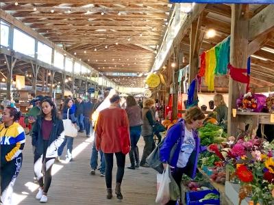 The Farmers Market in Ithaca NY