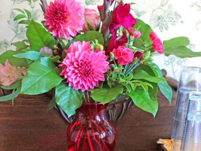 Flowers at Miller Inn Ithaca NY
