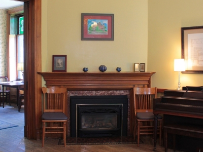 The music room at the William Henry Miller Inn Ithaca NY - 5