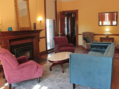 The Parlor Room at the Miller Inn B and B Ithaca NY