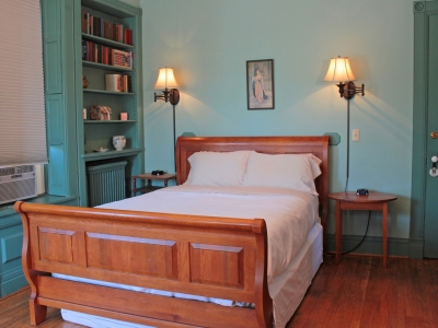 Library Room at the Miller Inn lodging Ithaca