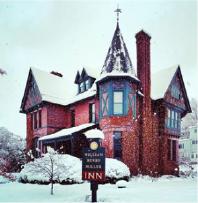 The William Henry Miller Inn in Ithaca New York wintertime
