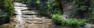 Buttermilk Falls State Park in Ithaca