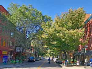 State Street in Downtown Ithaca NY