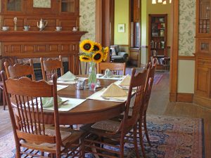 dining room BnB Ithaca
