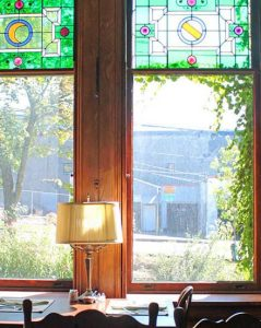 Bed and breakfast window Ithaca